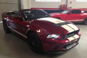 FORD MUSTANG GT500 CABRIO